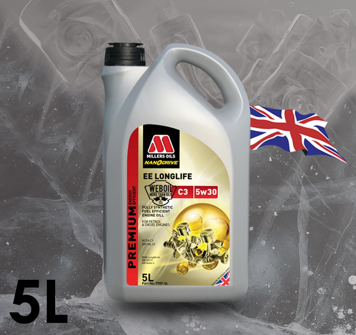 e8c7ef8933 Motorový olej Millers oils EE Longlife C3 5w-30 5l