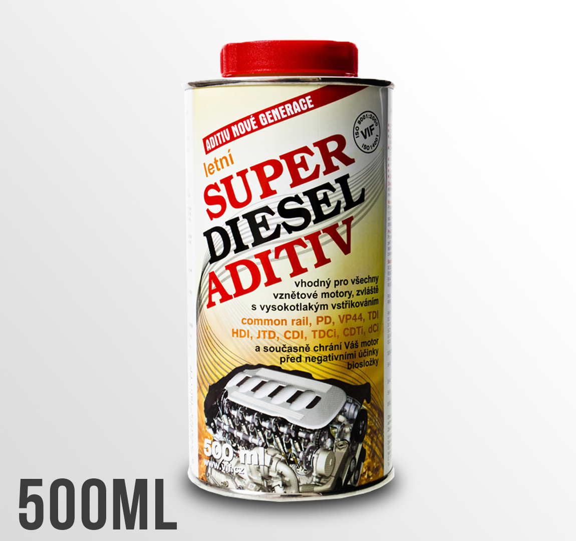 Aditivum do nafty VIF Super diesel aditiv letní 500ml